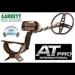 GARRETT AT PRO  DETECTOR INTL VERSION ( P/N  1140560 )  FREE SHIPPING